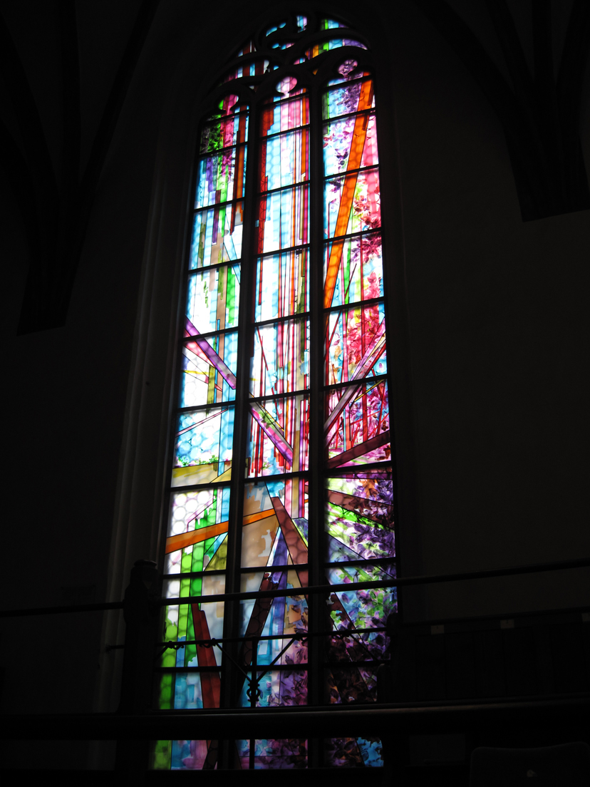 Peace Window, St. Thomas Church, Leipzig