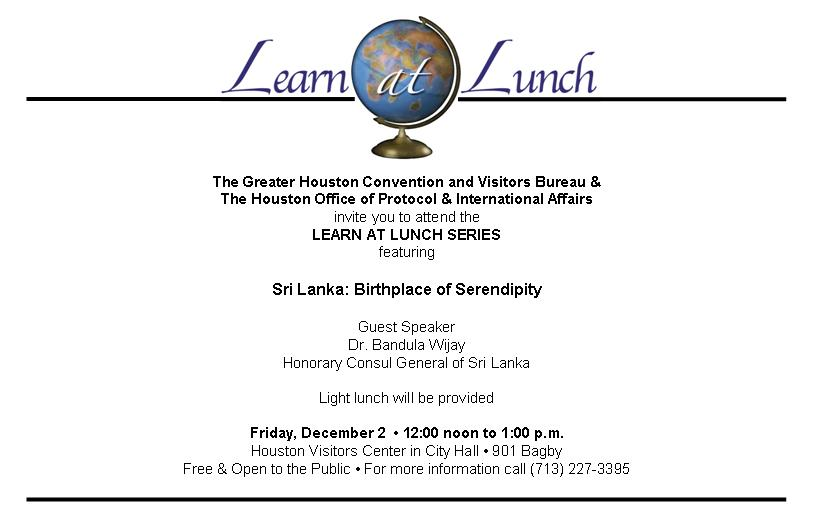 Announcements Page 25 Houston Leipzig Sister City Association